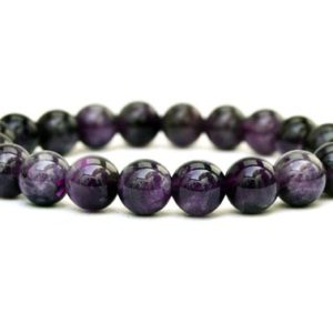 Shop Amethyst Bracelets! Amethyst Beaded Bracelet – 10mm Beads – Amethyst Bracelet – Amethyst Beads – Amethyst String Bracelet – Crystal Bracelet – Yoga Bracelet | Natural genuine Amethyst bracelets. Buy crystal jewelry, handmade handcrafted artisan jewelry for women.  Unique handmade gift ideas. #jewelry #beadedbracelets #beadedjewelry #gift #shopping #handmadejewelry #fashion #style #product #bracelets #affiliate #ad