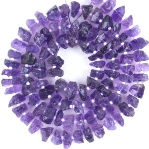 Shop Amethyst Chip & Nugget Beads! AAA Quality 1 Strand Blue Amethyst Rough,Natural Amethyst Rough Gemstone,Making Jewelry,6-8mm Approx,Drilled Rough,Wholesale Price | Natural genuine chip Amethyst beads for beading and jewelry making.  #jewelry #beads #beadedjewelry #diyjewelry #jewelrymaking #beadstore #beading #affiliate #ad