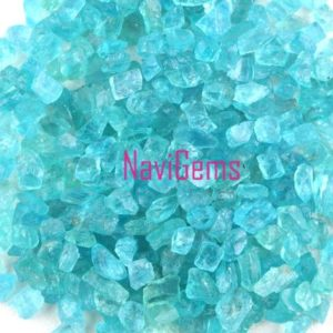 Shop Raw & Rough Apatite Stones! Aaa Quality 50 Piece Natural Apatite Rough, loose Gemstone, 6-8mm Approx, rough Gemstone, apatite, making Jewelry, undrilled Rough, wholesale Price | Natural genuine stones & crystals in various shapes & sizes. Buy raw cut, tumbled, or polished gemstones for making jewelry or crystal healing energy vibration raising reiki stones. #crystals #gemstones #crystalhealing #crystalsandgemstones #energyhealing #affiliate #ad