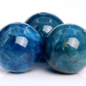 Shop Apatite Round Beads! 32 / 16 Pcs – 12-13MM Deep Blue Apatite Beads Grade AB Genuine Natural Round Gemstone Loose Beads (103552) | Natural genuine round Apatite beads for beading and jewelry making.  #jewelry #beads #beadedjewelry #diyjewelry #jewelrymaking #beadstore #beading #affiliate #ad