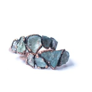 Shop Aquamarine Rings! Multi Stone Ring | Rough Aquamarine Gemstone Ring | March Birthstone Jewelry | Aquamarine Birthstone Ring | Raw Aquamarine Stone Ring | Natural genuine Aquamarine rings, simple unique handcrafted gemstone rings. #rings #jewelry #shopping #gift #handmade #fashion #style #affiliate #ad