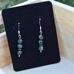 Shop Ruby Zoisite Earrings! Authentic Handmade Ruby Zoisite Earrings | Natural genuine Ruby Zoisite earrings. Buy crystal jewelry, handmade handcrafted artisan jewelry for women.  Unique handmade gift ideas. #jewelry #beadedearrings #beadedjewelry #gift #shopping #handmadejewelry #fashion #style #product #earrings #affiliate #ad