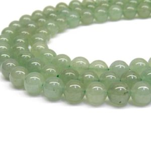 Green Aventurine, Aventurine, Aventurine Beads, Beads for Jewelry Making, Gemstone Beads, Green Beads 4mm Beads 4mm Gemstone beads 8mm Beads | Natural genuine beads Aventurine beads for beading and jewelry making.  #jewelry #beads #beadedjewelry #diyjewelry #jewelrymaking #beadstore #beading #affiliate #ad