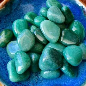 Shop Tumbled Aventurine Crystals & Pocket Stones! Green Aventurine Large Tumbled Love Soulmate Abundance Wealth Luck Reiki Healing | Natural genuine stones & crystals in various shapes & sizes. Buy raw cut, tumbled, or polished gemstones for making jewelry or crystal healing energy vibration raising reiki stones. #crystals #gemstones #crystalhealing #crystalsandgemstones #energyhealing #affiliate #ad