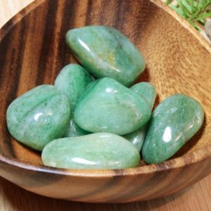 Shop Tumbled Aventurine Crystals & Pocket Stones! Green Aventurine Natural Tumbled Polished Pocket Stone Healing Protecting Crystals, Meditation Yoga Energy Balance Spiritual Gifts 51039 | Natural genuine stones & crystals in various shapes & sizes. Buy raw cut, tumbled, or polished gemstones for making jewelry or crystal healing energy vibration raising reiki stones. #crystals #gemstones #crystalhealing #crystalsandgemstones #energyhealing #affiliate #ad