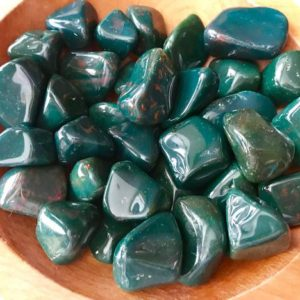 Shop Tumbled Bloodstone Crystals & Pocket Stones! Bloodstone Tumbled Healing Reiki Courage Rebirth Detoxification Protection | Natural genuine stones & crystals in various shapes & sizes. Buy raw cut, tumbled, or polished gemstones for making jewelry or crystal healing energy vibration raising reiki stones. #crystals #gemstones #crystalhealing #crystalsandgemstones #energyhealing #affiliate #ad