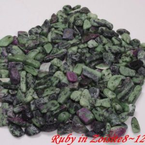 Shop Ruby Zoisite Chip & Nugget Beads! Bulk Lot Ruby in Zoisite5~7mm-8~12mm-polished natural gemstones-undrilled beads-necklace-jewelry making-gravels-chips stone | Natural genuine chip Ruby Zoisite beads for beading and jewelry making.  #jewelry #beads #beadedjewelry #diyjewelry #jewelrymaking #beadstore #beading #affiliate #ad