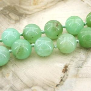 Shop Chrysoprase Necklaces! Chrysoprase round beads 12-18mm (ETB01326)   Healing crystals/Unique jewelry/Vintage jewelry/Gemstone necklace | Natural genuine Chrysoprase necklaces. Buy crystal jewelry, handmade handcrafted artisan jewelry for women.  Unique handmade gift ideas. #jewelry #beadednecklaces #beadedjewelry #gift #shopping #handmadejewelry #fashion #style #product #necklaces #affiliate #ad