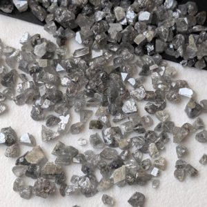 Shop Raw & Rough Diamond Stones! 2-3mm Salt And Pepper Rough Diamond Chips, Raw Uncut Diamond, Raw Diamond Chips, Loose Diamond Chips For Jewelry (1Ct To 5Ct) – PPD564 | Natural genuine stones & crystals in various shapes & sizes. Buy raw cut, tumbled, or polished gemstones for making jewelry or crystal healing energy vibration raising reiki stones. #crystals #gemstones #crystalhealing #crystalsandgemstones #energyhealing #affiliate #ad