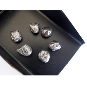 Shop Raw & Rough Diamond Stones! 6mm Approx, Black Diamond Crystal, Raw Diamond, Rough Diamond, Uncut Diamond, Loose Diamond Crystal For Jewelry (1Pc To 2Pc Options) | Natural genuine stones & crystals in various shapes & sizes. Buy raw cut, tumbled, or polished gemstones for making jewelry or crystal healing energy vibration raising reiki stones. #crystals #gemstones #crystalhealing #crystalsandgemstones #energyhealing #affiliate #ad
