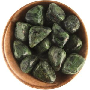 1 Diopside – Ethically Sourced Tumbled Stone | Natural genuine stones & crystals in various shapes & sizes. Buy raw cut, tumbled, or polished gemstones for making jewelry or crystal healing energy vibration raising reiki stones. #crystals #gemstones #crystalhealing #crystalsandgemstones #energyhealing #affiliate #ad