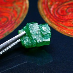 Shop Raw & Rough Emerald Stones! Emerald Specimen ~ 3.9 carats ~ Natural SWAT Emerald | Natural genuine stones & crystals in various shapes & sizes. Buy raw cut, tumbled, or polished gemstones for making jewelry or crystal healing energy vibration raising reiki stones. #crystals #gemstones #crystalhealing #crystalsandgemstones #energyhealing #affiliate #ad
