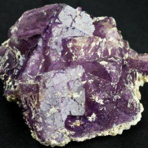 Shop Raw & Rough Fluorite Stones! Gorgeous Purple Fluorite Cluster | Natural genuine stones & crystals in various shapes & sizes. Buy raw cut, tumbled, or polished gemstones for making jewelry or crystal healing energy vibration raising reiki stones. #crystals #gemstones #crystalhealing #crystalsandgemstones #energyhealing #affiliate #ad
