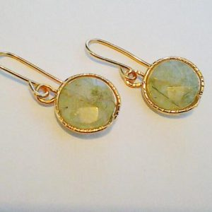 Shop Fluorite Jewelry! Green Fluorite Earrings Green Gemstone Earrings 14K Gold filled or Sterling Silver,Mothers Day Gift | Natural genuine Fluorite jewelry. Buy crystal jewelry, handmade handcrafted artisan jewelry for women.  Unique handmade gift ideas. #jewelry #beadedjewelry #beadedjewelry #gift #shopping #handmadejewelry #fashion #style #product #jewelry #affiliate #ad