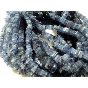 Shop Iolite Bead Shapes! Iolite Spacer Beads, Iolite Heishi Bead, Spacer Bead, Iolite Bead, 4mm Beads, Heishi Bead, 16 Inch Strand | Natural genuine other-shape Iolite beads for beading and jewelry making.  #jewelry #beads #beadedjewelry #diyjewelry #jewelrymaking #beadstore #beading #affiliate #ad