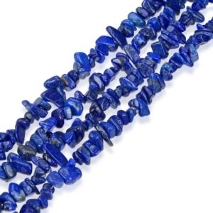 Shop Lapis Lazuli Chip & Nugget Beads! U Pick Top Quality Natural Lapis Lazuli Gemstone Smooth Free-form Gems Stone Chip Beads 33 Inch Per Strand For Jewelry Craft Making Gz1-19 | Natural genuine chip Lapis Lazuli beads for beading and jewelry making.  #jewelry #beads #beadedjewelry #diyjewelry #jewelrymaking #beadstore #beading #affiliate #ad