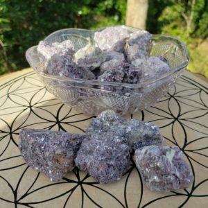 Raw Natural Lepidolite Crystal Chunks – Reiki Charged – Rough Lepidolite – Crystal Reiki – Crystal for Anxiety – Stress – Depression – | Natural genuine stones & crystals in various shapes & sizes. Buy raw cut, tumbled, or polished gemstones for making jewelry or crystal healing energy vibration raising reiki stones. #crystals #gemstones #crystalhealing #crystalsandgemstones #energyhealing #affiliate #ad