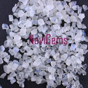 Shop Rainbow Moonstone Beads! AAA Quality 50 Pieces Natural Rainbow Moonstone,BlueFire Moonstone,Natural Moonstone,Rough Moonstone,Natural Rainbow Rough,6-8 mm,Wholesale | Natural genuine beads Rainbow Moonstone beads for beading and jewelry making.  #jewelry #beads #beadedjewelry #diyjewelry #jewelrymaking #beadstore #beading #affiliate #ad