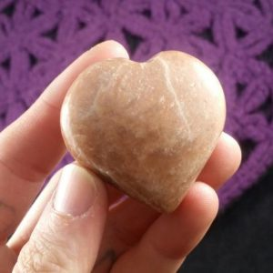 Shop Moonstone Shapes! Peach Moonstone Heart Crystal Polished Stones Grid Moon Stone Schiller Silver Shimmer | Natural genuine stones & crystals in various shapes & sizes. Buy raw cut, tumbled, or polished gemstones for making jewelry or crystal healing energy vibration raising reiki stones. #crystals #gemstones #crystalhealing #crystalsandgemstones #energyhealing #affiliate #ad