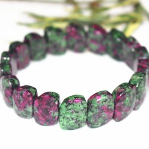 Shop Ruby Zoisite Bracelets! Natura Ruby Zoisite Beads 10x15mm Bracelet Ruby Zoisite Bracelet Ruby Zoisite beads Bracelet wholesale,Jewelry Bracelets | Natural genuine Ruby Zoisite bracelets. Buy crystal jewelry, handmade handcrafted artisan jewelry for women.  Unique handmade gift ideas. #jewelry #beadedbracelets #beadedjewelry #gift #shopping #handmadejewelry #fashion #style #product #bracelets #affiliate #ad
