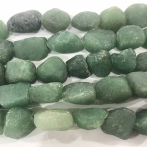 Shop Aventurine Chip & Nugget Beads! Natural Aventurine 10 – 16 Mm Raw Nuggets Genuine Loose Green Freeshape Beads 15 Inch Jewelry Supply Bracelet Necklace Material Support | Natural genuine chip Aventurine beads for beading and jewelry making.  #jewelry #beads #beadedjewelry #diyjewelry #jewelrymaking #beadstore #beading #affiliate #ad