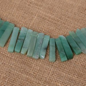 Shop Aventurine Bead Shapes! Natural Aventurine Point Beads – Aventurine Slice Beads – Polished Aventurine Stick Beads – Raw Aventurine Spikes Beads – Aventurine Crystal | Natural genuine other-shape Aventurine beads for beading and jewelry making.  #jewelry #beads #beadedjewelry #diyjewelry #jewelrymaking #beadstore #beading #affiliate #ad