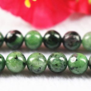 "Shop Ruby Zoisite Round Beads! Natural Ruby Zoisite Round Beads,6mm 8mm 10mm 12mm Ruby Zoisite Beads,Ruby Zoisite Beads supply,15"" strand 