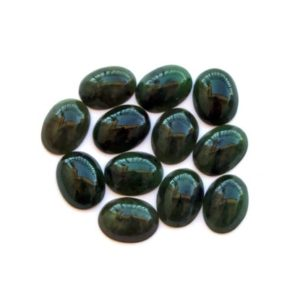 Shop Jade Cabochons! Nephrite Jade Cabochons, Oval, Amazing Luster, Grade AAA, 10 X 12 X 4 mm, 2 Per pkg | Natural genuine stones & crystals in various shapes & sizes. Buy raw cut, tumbled, or polished gemstones for making jewelry or crystal healing energy vibration raising reiki stones. #crystals #gemstones #crystalhealing #crystalsandgemstones #energyhealing #affiliate #ad