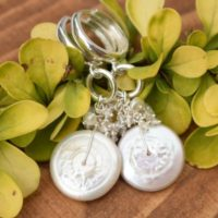 Long White Pearl Earring,  Romantic Earring, Bridal Jewelry, Sterling Silver Jewelry | Natural genuine Gemstone jewelry. Buy handcrafted artisan wedding jewelry.  Unique handmade bridal jewelry gift ideas. #jewelry #beadedjewelry #gift #crystaljewelry #shopping #handmadejewelry #wedding #bridal #jewelry #affiliate #ad