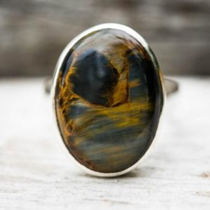 Shop Pietersite Rings! Pietersite Ring 9 – Pietersite Ring size 9 – Pietersite Ring – Pietersite Jewelry – Pietersite Ring size 9 – Pietersite Ring – Pietersite 9 | Natural genuine Pietersite rings, simple unique handcrafted gemstone rings. #rings #jewelry #shopping #gift #handmade #fashion #style #affiliate #ad