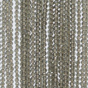 Shop Quartz Crystal Faceted Beads! Brown Gray Quartz Loose Beads Faceted Round Shape 2MM   Natural genuine faceted Quartz beads for beading and jewelry making.  #jewelry #beads #beadedjewelry #diyjewelry #jewelrymaking #beadstore #beading #affiliate #ad