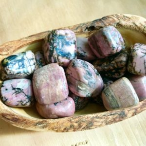 Shop Rhodonite Stones & Crystals! Rhodonite Tumbled Self Love Compassion Soulmates Twin Flames Purpose Destiny Full Moon Charged Reiki Healing | Natural genuine stones & crystals in various shapes & sizes. Buy raw cut, tumbled, or polished gemstones for making jewelry or crystal healing energy vibration raising reiki stones. #crystals #gemstones #crystalhealing #crystalsandgemstones #energyhealing #affiliate #ad