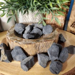 Shop Raw & Rough Onyx Stones! One Rough/Raw Black Onyx B197 | Natural genuine stones & crystals in various shapes & sizes. Buy raw cut, tumbled, or polished gemstones for making jewelry or crystal healing energy vibration raising reiki stones. #crystals #gemstones #crystalhealing #crystalsandgemstones #energyhealing #affiliate #ad