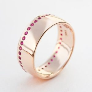 Shop Ruby Rings! Ruby Ring, Ruby Wedding Band, Ruby Wedding Ring, Ruby Wide Ring, Rubies Wedding Band, Gold Rubies Ring,Gold Rubies Band,Eternity Ring, Ruby | Natural genuine Ruby rings, simple unique alternative gemstone engagement rings. #rings #jewelry #bridal #wedding #jewelryaccessories #engagementrings #weddingideas #affiliate #ad