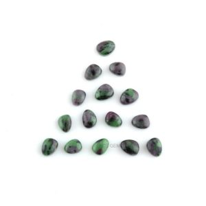 Shop Ruby Zoisite Stones & Crystals! Natural Ruby Zoisite Gemstones, Ruby Zoisite 6x8mm Nugget Smooth Cabochon, Wholesale Cabochon Gems, Jewelry Making Gemstone – 15 Pcs | Natural genuine stones & crystals in various shapes & sizes. Buy raw cut, tumbled, or polished gemstones for making jewelry or crystal healing energy vibration raising reiki stones. #crystals #gemstones #crystalhealing #crystalsandgemstones #energyhealing #affiliate #ad