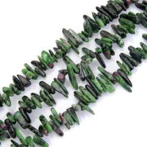 Shop Ruby Zoisite Bead Shapes! U Pick Natural Ruby Zoisite Gemstone Pendulum Teardrop Point Top Drilled 7-23mm Gems Stone Bead 15 Inch Per Strand for Jewelry Making GZ5-15 | Natural genuine other-shape Ruby Zoisite beads for beading and jewelry making.  #jewelry #beads #beadedjewelry #diyjewelry #jewelrymaking #beadstore #beading #affiliate #ad