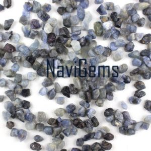 Good Quality 50 Pieces Blue Sapphire ,Natural Sapphire Rough Gemstone,Making Jewelry,6-8 MM Approx,Sapphire,Loose Gemstone,Wholesale Price | Natural genuine chip Sapphire beads for beading and jewelry making.  #jewelry #beads #beadedjewelry #diyjewelry #jewelrymaking #beadstore #beading #affiliate #ad
