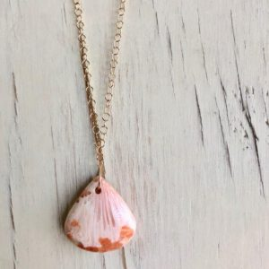 Scolecite Necklace Scolecite Teardrop Necklace Scolecite Jewelry Gemstone Jewelry Peach Scolecite | Natural genuine Gemstone necklaces. Buy crystal jewelry, handmade handcrafted artisan jewelry for women.  Unique handmade gift ideas. #jewelry #beadednecklaces #beadedjewelry #gift #shopping #handmadejewelry #fashion #style #product #necklaces #affiliate #ad
