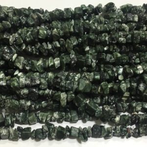 Shop Seraphinite Beads! Seraphinite chips beads ,34 inch strand,seraphinite beads ,seraphinite chips beads stone | Natural genuine chip Seraphinite beads for beading and jewelry making.  #jewelry #beads #beadedjewelry #diyjewelry #jewelrymaking #beadstore #beading #affiliate #ad