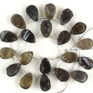 Shop Smoky Quartz Chip & Nugget Beads! Stunning 1 Strand Natural Smoky Quartz Rough, Rough Gemstone, 20 Pieces,Gift For Her,9×14-10×15 MM, Genuine Quartz Raw, Wholesale Price | Natural genuine chip Smoky Quartz beads for beading and jewelry making.  #jewelry #beads #beadedjewelry #diyjewelry #jewelrymaking #beadstore #beading #affiliate #ad