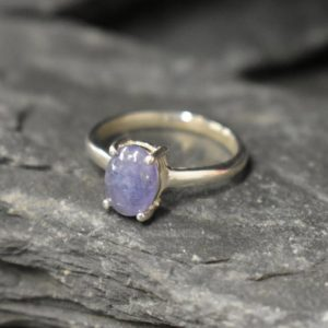 Shop Tanzanite Rings! Tanzanite Ring, Tanzanite Engagement Ring, December Birthstone, Solitaire Ring, Blue Ring, Tanzanite Rings, Purple Ring, Solid Silver Ring | Natural genuine Tanzanite rings, simple unique alternative gemstone engagement rings. #rings #jewelry #bridal #wedding #jewelryaccessories #engagementrings #weddingideas #affiliate #ad