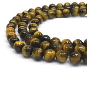 Shop Tiger Eye Beads! Tiger Eye Beads, Tiger Eye Stone, Beads For Jewelry Making, Tiger Eye, Gemstone Beads, Natural Gemstone Beads, 6mm Beads, 8mm Gemstone Beads | Natural genuine beads Tiger Eye beads for beading and jewelry making.  #jewelry #beads #beadedjewelry #diyjewelry #jewelrymaking #beadstore #beading #affiliate #ad