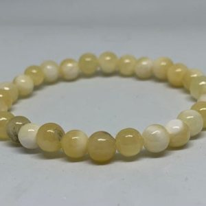 Shop Calcite Bracelets! Yellow Calcite Beaded Bracelet | Natural genuine Calcite bracelets. Buy crystal jewelry, handmade handcrafted artisan jewelry for women.  Unique handmade gift ideas. #jewelry #beadedbracelets #beadedjewelry #gift #shopping #handmadejewelry #fashion #style #product #bracelets #affiliate #ad