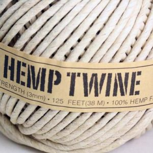 Shop Hemp Twine! 100% Natural organic Hemp Twine –  strong 3MM –   Spool x 38 METRE ( 125 feet) | Shop jewelry making and beading supplies, tools & findings for DIY jewelry making and crafts. #jewelrymaking #diyjewelry #jewelrycrafts #jewelrysupplies #beading #affiliate #ad