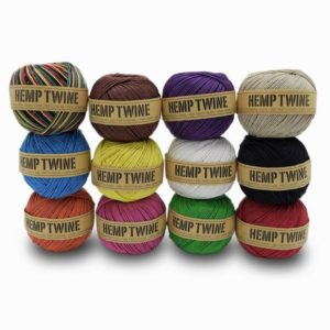 Shop Hemp Twine! 1mm 100% Hemp Twine Ball 430 Feet (130 M) | Shop jewelry making and beading supplies, tools & findings for DIY jewelry making and crafts. #jewelrymaking #diyjewelry #jewelrycrafts #jewelrysupplies #beading #affiliate #ad
