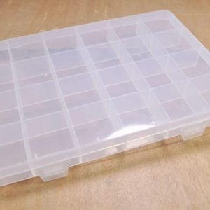 Shop Storage for Beading Supplies! 2pcs of Plastic Storage Bead Container Box Case,24 Compartments for Beads/Charms — 19.2×13.3cm | Shop jewelry making and beading supplies, tools & findings for DIY jewelry making and crafts. #jewelrymaking #diyjewelry #jewelrycrafts #jewelrysupplies #beading #affiliate #ad