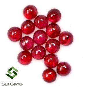 Shop Ruby Cabochons! 3 mm Natural Ruby Round Cabochon Lot 15 Pcs 2.53 Cts Calibrated Unheated Loose Gemstones | Natural genuine stones & crystals in various shapes & sizes. Buy raw cut, tumbled, or polished gemstones for making jewelry or crystal healing energy vibration raising reiki stones. #crystals #gemstones #crystalhealing #crystalsandgemstones #energyhealing #affiliate #ad