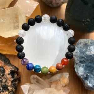 Shop Apache Tears Jewelry! 7 CHAKRA STONES Rainbow Bracelet Crown Third Eye Throat Solar Plexus  Heart Sacral Crystal Pride Healing Meditation LGBTQ+ Crystal Jewelry | Natural genuine Apache Tears jewelry. Buy crystal jewelry, handmade handcrafted artisan jewelry for women.  Unique handmade gift ideas. #jewelry #beadedjewelry #beadedjewelry #gift #shopping #handmadejewelry #fashion #style #product #jewelry #affiliate #ad