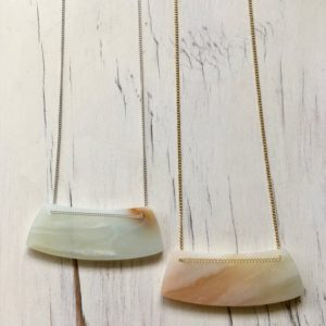 Cream Amazonite Bar Necklace Amazonite Necklace Gemstone Jewelry Statement Necklace | Natural genuine Gemstone necklaces. Buy crystal jewelry, handmade handcrafted artisan jewelry for women.  Unique handmade gift ideas. #jewelry #beadednecklaces #beadedjewelry #gift #shopping #handmadejewelry #fashion #style #product #necklaces #affiliate #ad