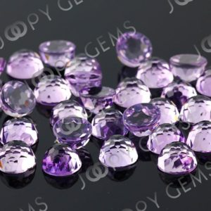 Shop Amethyst Stones & Crystals! Pink Amethyst Rose Cut Round Cabochon 10mm – 1 cab | Natural genuine stones & crystals in various shapes & sizes. Buy raw cut, tumbled, or polished gemstones for making jewelry or crystal healing energy vibration raising reiki stones. #crystals #gemstones #crystalhealing #crystalsandgemstones #energyhealing #affiliate #ad